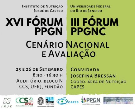 Invitation XVI PPGN Forum and III PPGNC Forum