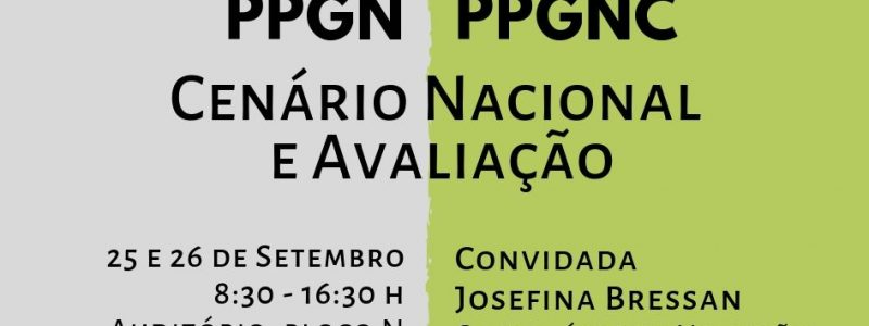 Convite XVI Fórum PPGN e III Fórum PPGNC